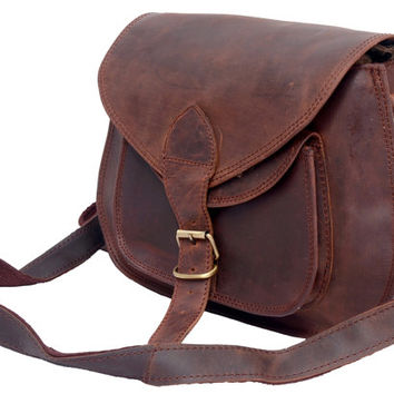 Gypsy Style Crossbody Leather Purse Women Handbag Women Satchel Shoulder bag Messenger Bag