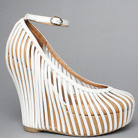 The So Crazy Shoe in White by Jeffrey Campbell Shoes | Karmaloop.com - Global Concrete Culture