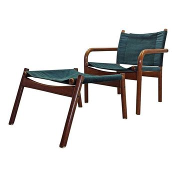 Pre-owned Bernstorffsminde Møbelfabrik Danish Lounge Chair