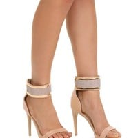 Natural Diva Ankle Strap Heels