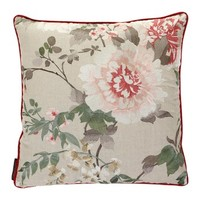 Persian Garden Red Cushion - 50x50cm from Osborne & Little