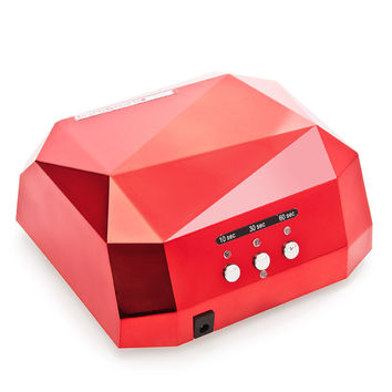 36W UV Led Lamp Nail Dryer 6 Color Diamond Shaped LED UV Lamp Nail Lamp Curing for UV LED Gel Nails Polish Nail Art Tools