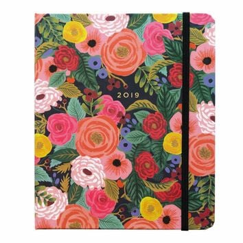 RIFLE PAPER CO. 2019 JULIET ROSE CLASSIC COVERED SPIRAL PLANNER