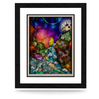 "Mandie Manzano ""Fairy Tale Alice in Wonderland"" KESS Natural Canvas, 16"" x 20"" - Outlet Item"