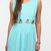 Motel Cutout-Waist Babydoll Dress
