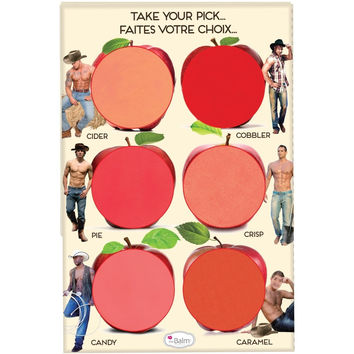 theBalm Cosmetics How 'Bout Them Apples Cheek & Lip Cream Palette
