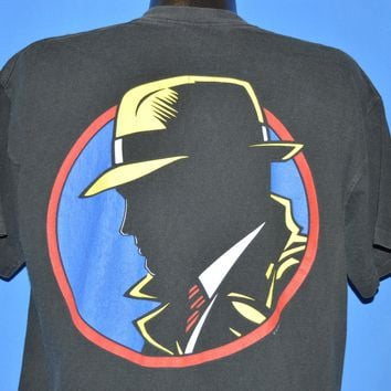 90s Dick Tracy 1990 Movie Double Sided t-shirt Extra Large