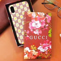 GUCCI New fashion more letter bee love heart couple protective cover phone case