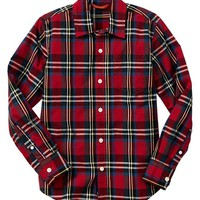 Gap Boys Factory Plaid Shirt