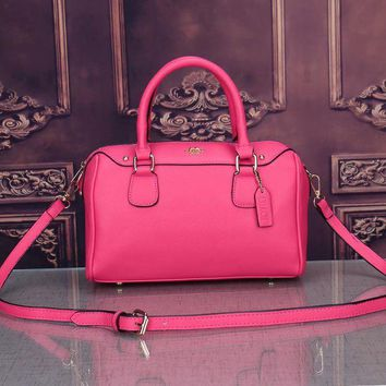 Coach New Fashion Women Leather Satchel Shoulder Bag Handbag Crossbody