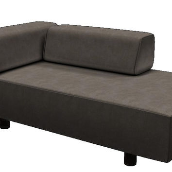 Color Customizable Chaise Lounge Sofa Calabasas by Lazar Industries