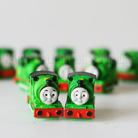 2 pcs / Decoden / PVC / Lovely / Pendant / Charms / Thomas and his friends / Figurine / Dollhouse / 2cm DS295
