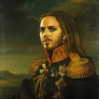 Tim Minchin - replaceface Art Print by Replaceface