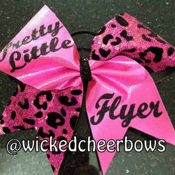 Cheer Bow - Pink Pretty Little Flyer