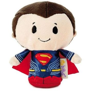 Hallmark itty bitty Justice League Superman Stuffed Animal Limited Edition