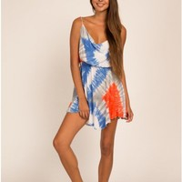 Tahani Tie-Dye Mini Dress