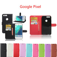 Hot Selling Google Pixel 5.0inch Case Wallet Style PU Leather Mobile Phone Protective Back Cover For HTC Google Pixel Phone Case