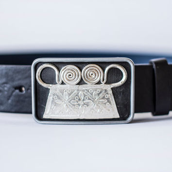 Hmong xauv belt for men's
