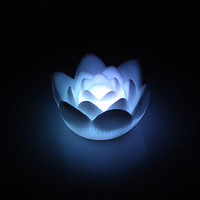 LED Lotus Nightlight $2 Shipped