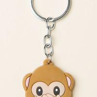 SAY NO MONKEY KEYCHAIN