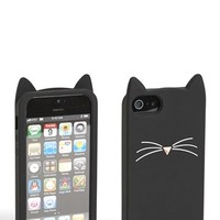 kate spade new york 'black cat' iPhone 5