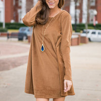 Stand By Me Dress, Tan