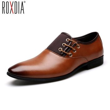 ROXDIA patent leather men formal shoes