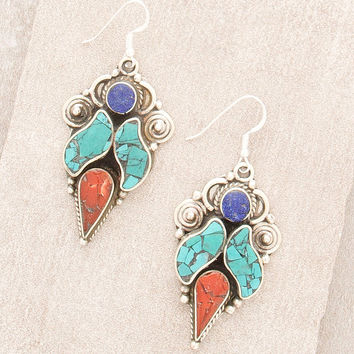 Sacred Nepal Earrings