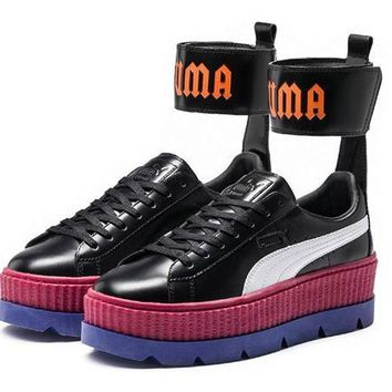 puma ankle strap creeper by rihanna