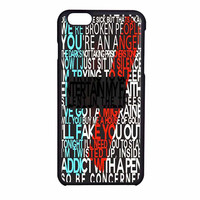 Twenty One Pilots Your An Angel Case for iPhone 6 / 6s