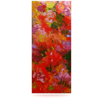"""Jeff Ferst """"Summer Garden"""" Floral Painting Luxe Rectangle Panel"""