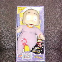 """13"""" Stop My Hiccups Baby Dil Pickles Rugrats Plush Doll M/I/Box By Mattel 1998"""