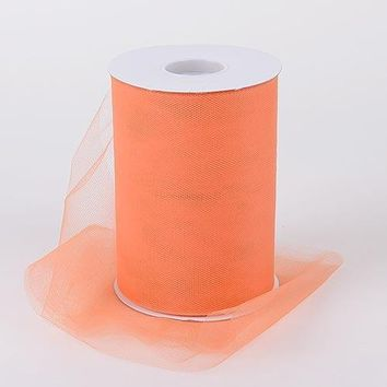 Orange Tulle Roll