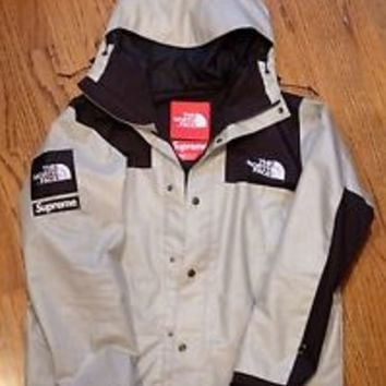 North face supreme parka ebay
