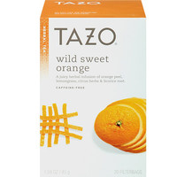 Tazo Wild Sweet Orange Tea 24 Pack - Single Box