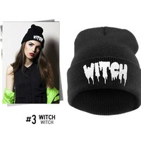 Perfect Print Women Men Hiphop Beanies Winter Knit Hat Cap
