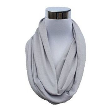 FlaskScarf Women's Jersey Infinity Novelty Flask Scarf (Hidden 8 Ounce Bladder)