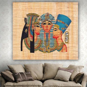 150*130cm Art Decor Tapestry Wall Hanging Ancient Egypt Style Wall Tapestry Summer Fashion Beach Towel Shawl Yoga Mat