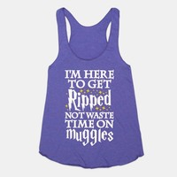 I'm Here To Get Ripped, Not Waste Time On Muggles