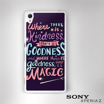 have courage and be kind cinderella for Sony Xperia Z1/Z2/Z3 phonecases