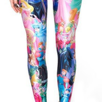 Sleeping Beauty leggings size medium