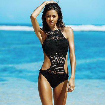 The Monokini One Piece Swimsuit