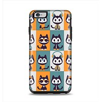The Retro Cats with Accessories Apple iPhone 6 Plus Otterbox Symmetry Case Skin Set
