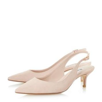 DUNE LADIES CASANDRA - Kitten Heel Slingback Court Shoe - blush | Dune Shoes Online