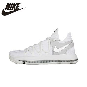 NIKE ZOOM EP KD10 Original Basketball Shoes Mesh Breathable  Stability Height Increasing Lightweight Sneakers For Men Shoes