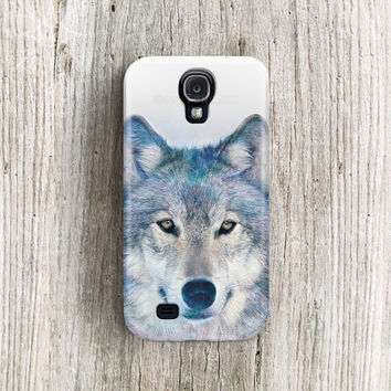 Wolf Galaxy s2 case Animal Samsung galaxy s3 case Wolf galaxy s4 case snow Galaxy note 2 case animal galaxy s4 case wolf 2 3 4 case /c204