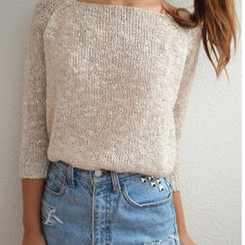 sirenlondon — Casual and glitzen Jumper