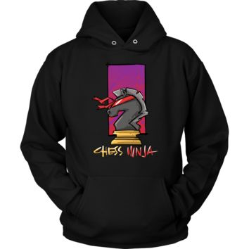 Chess Ninja, Best Knight Ever Hoodie