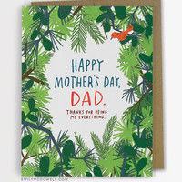 Mother's Day, Dad Card
