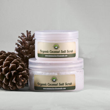 Coconut Salt Body Scrub